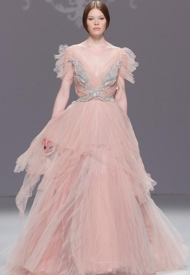 14-1031 - jemné a romantické svadobné šaty