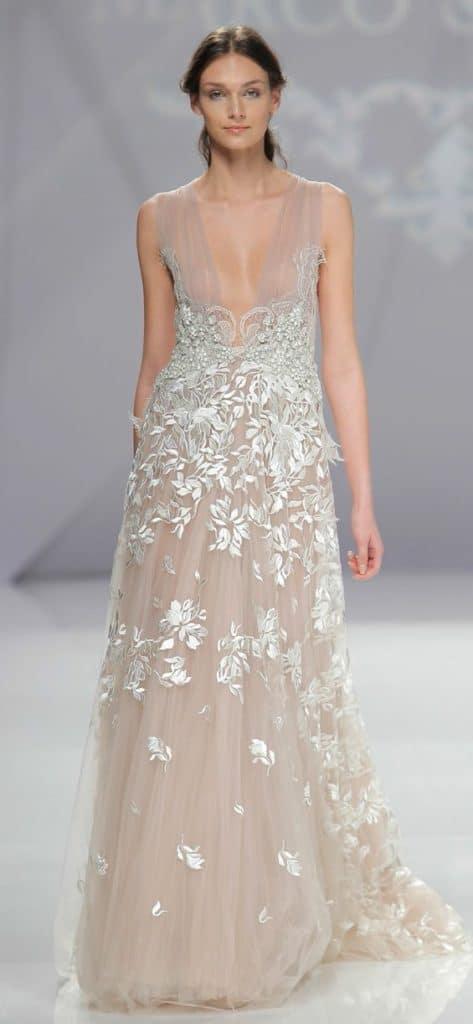 2017-1017 - jemné a romantické svadobné šaty