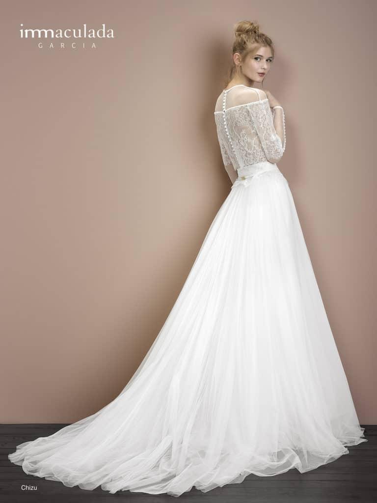 Chizu - ženské a zmyselné svadobné šaty