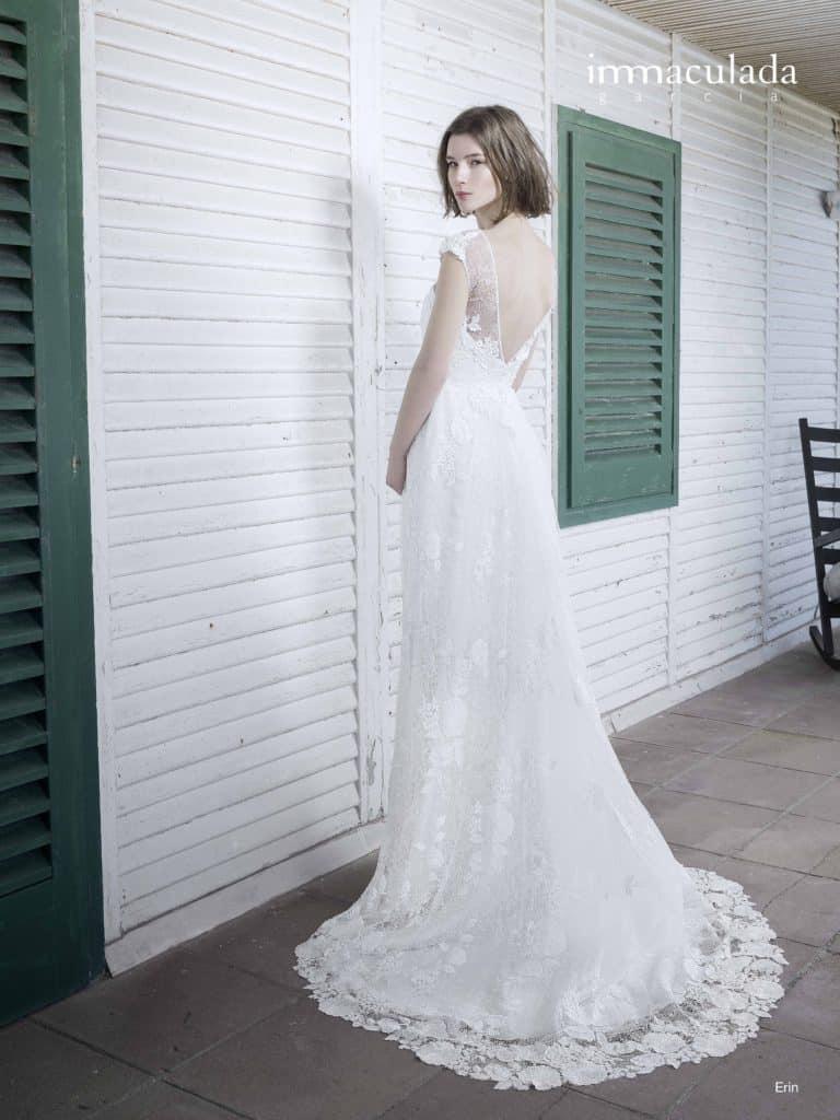 Erin - ženské a zmyselné svadobné šaty