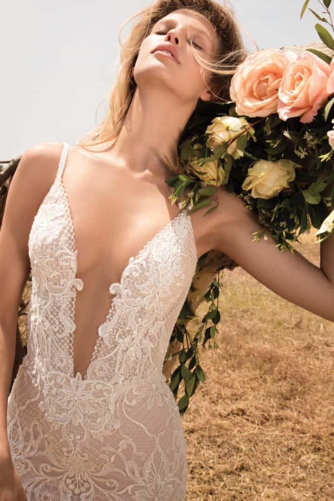 Gala 708 - Haute couture svadobné šaty