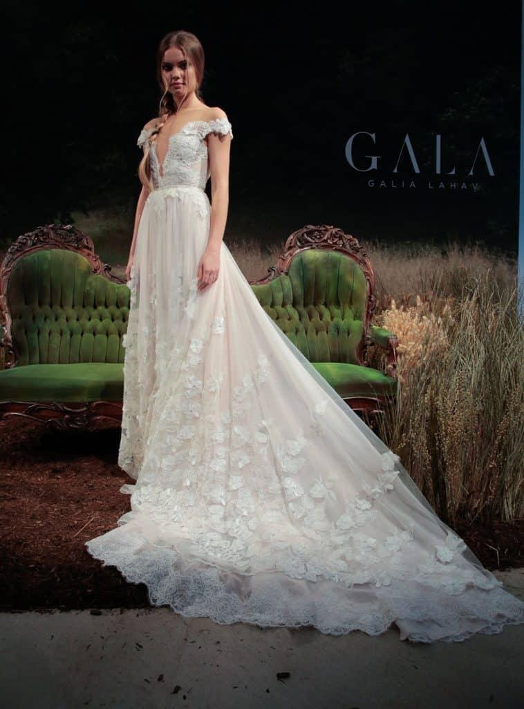 Gala 710 - Haute couture svadobné šaty
