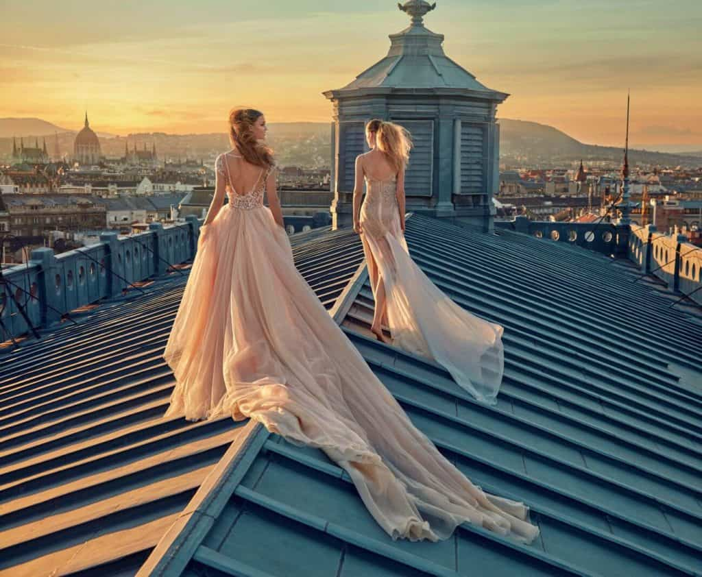 Gala 607 - Haute couture svadobné šaty