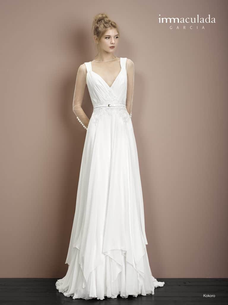 Kokoro - ženské a zmyselné svadobné šaty