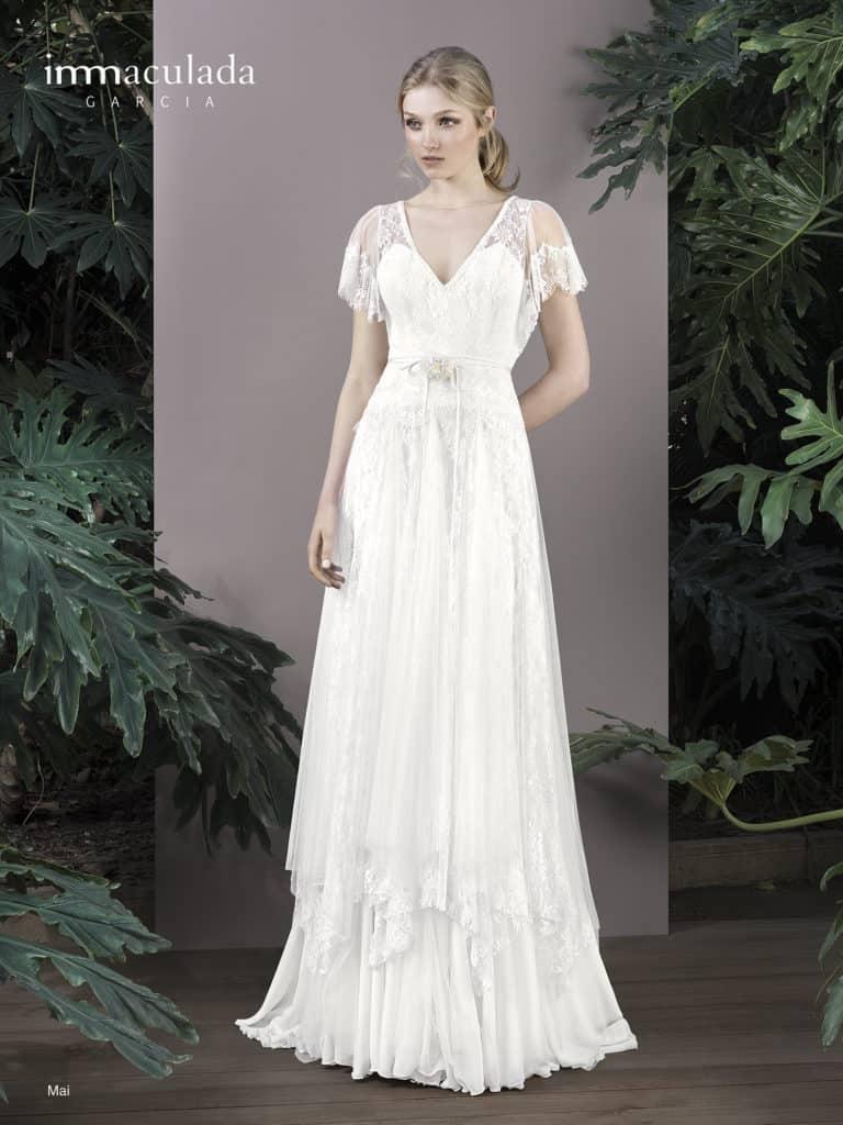 Mai - ženské a zmyselné svadobné šaty