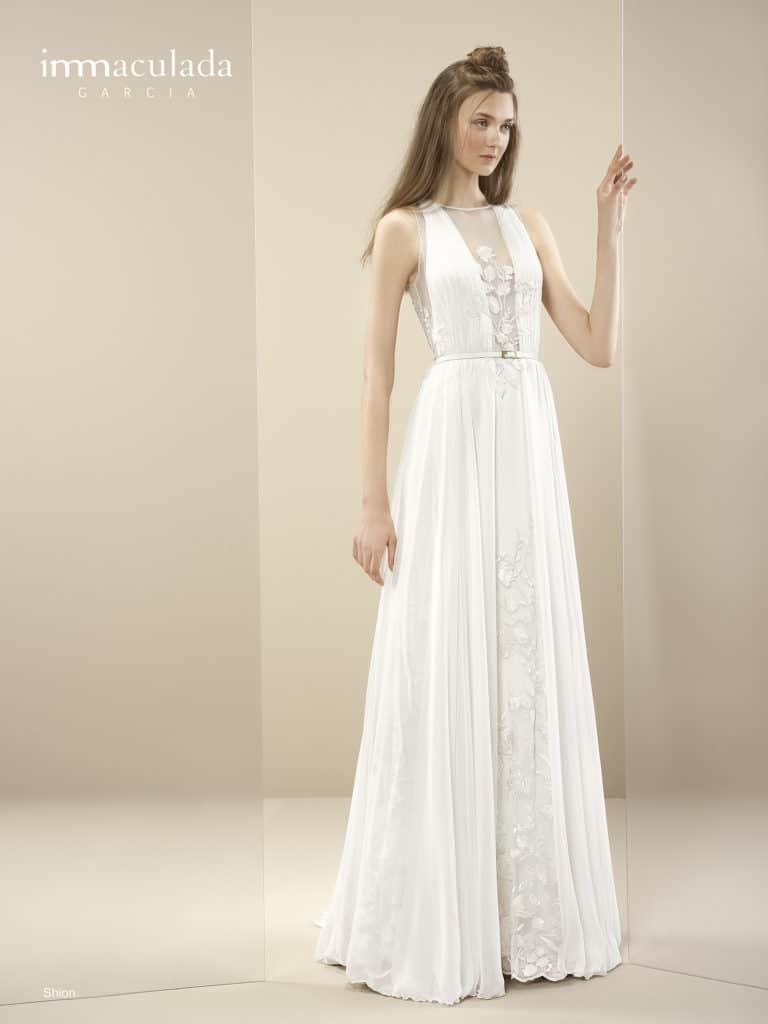 Shion - ženské a zmyselné svadobné šaty