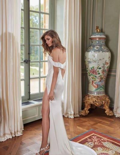 Galia Lahav Couture - Fancy White - Anna-back