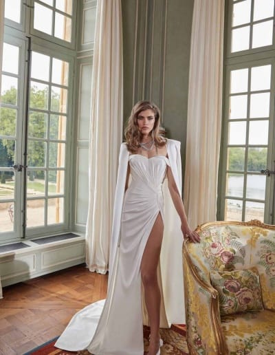 Galia Lahav Couture - Fancy White - Anna-front