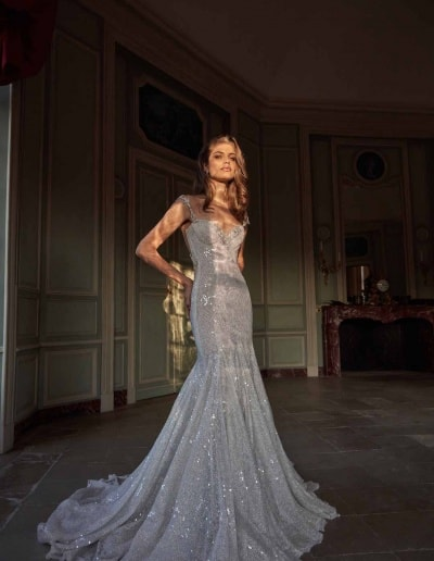 Galia Lahav Couture - Fancy White - Ella-front