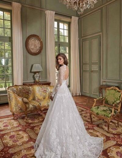 Galia Lahav Couture - Fancy White - Estee-back