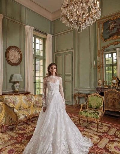 Galia Lahav Couture - Fancy White - Estee-front