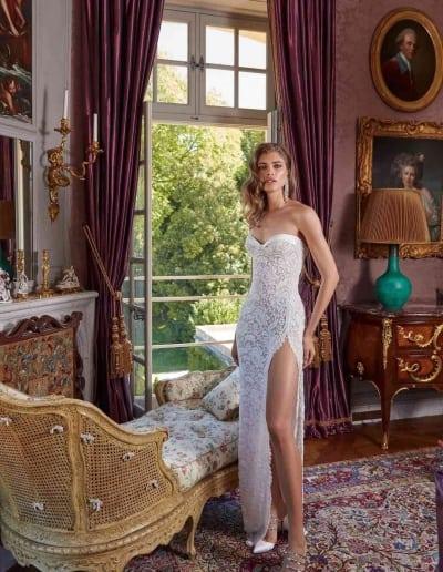 Galia Lahav Couture - Fancy White - Joanne-front