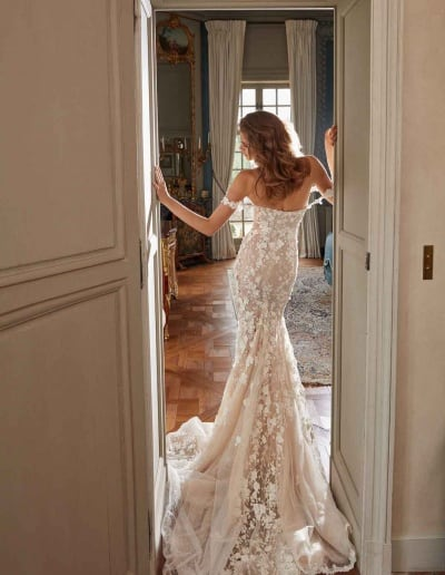 Galia Lahav Couture - Fancy White - Maya-back