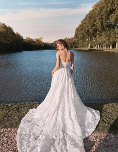 Galia Lahav Couture - Fancy White - Meghan-back