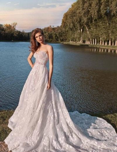 Galia Lahav Couture - Fancy White - Meghan-front