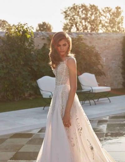 Galia Lahav Couture - Fancy White - Rosa-mid