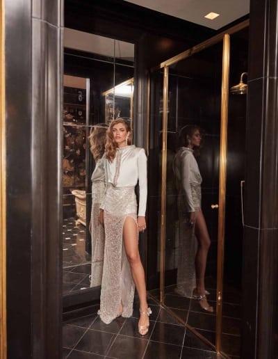 Galia Lahav Couture - Fancy White - Sampaio-front