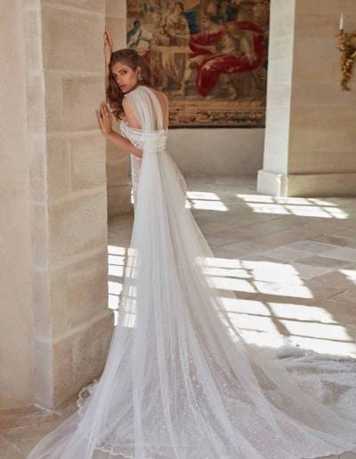 Galia Lahav Couture - Fancy White - Simone-back