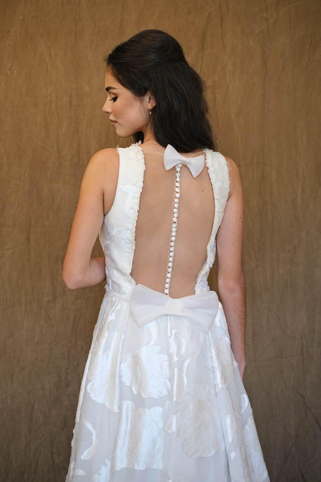 Bohémske svadobné šaty - Inmaculada Garcia - Chie - back-top