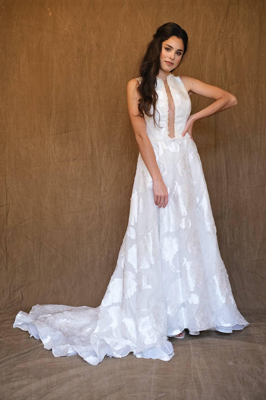 Bohémske svadobné šaty - Inmaculada Garcia - Chie - front