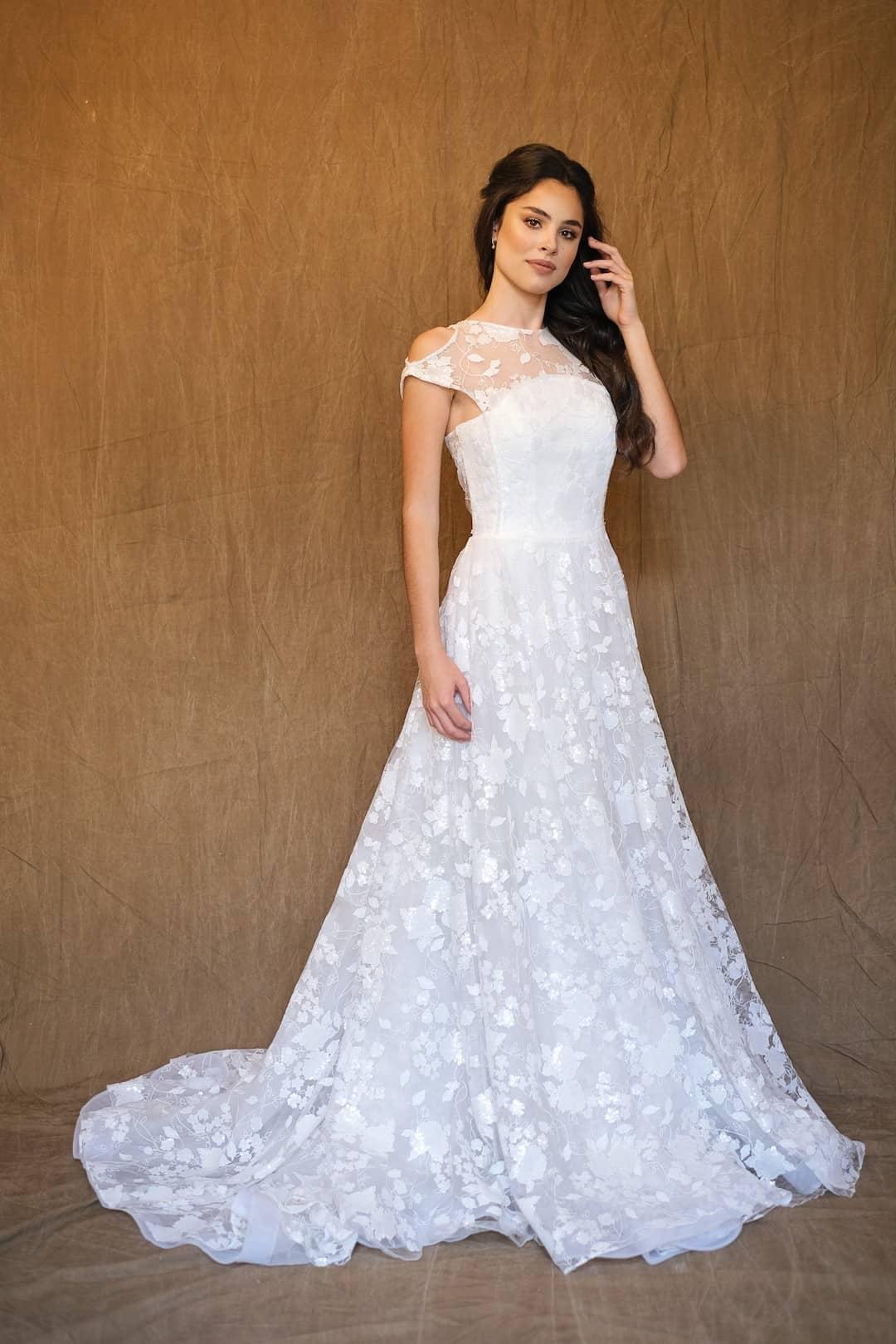 Bohémske svadobné šaty - Inmaculada Garcia - Izumi - front