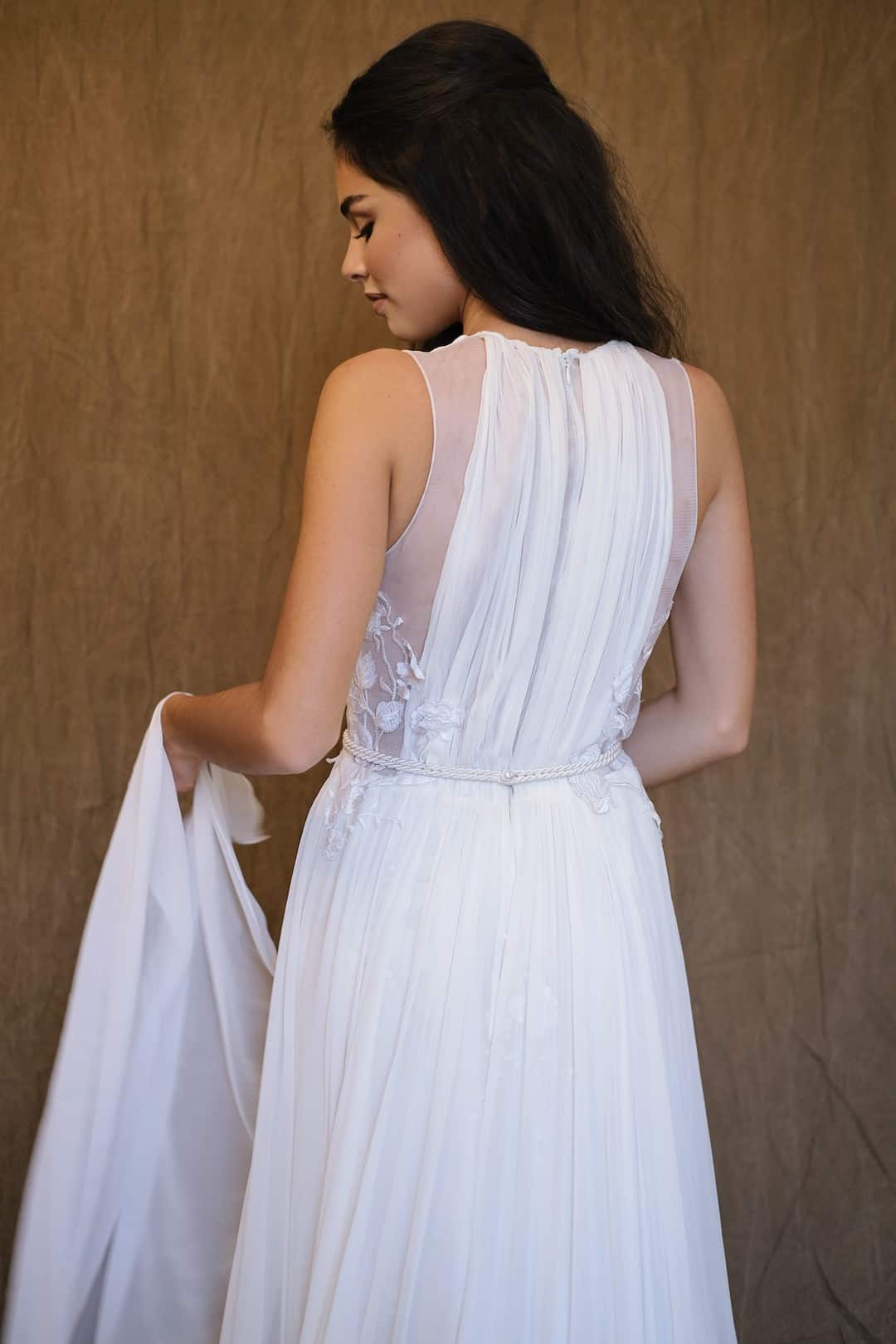Bohémske svadobné šaty - Inmaculada Garcia - Shion - back