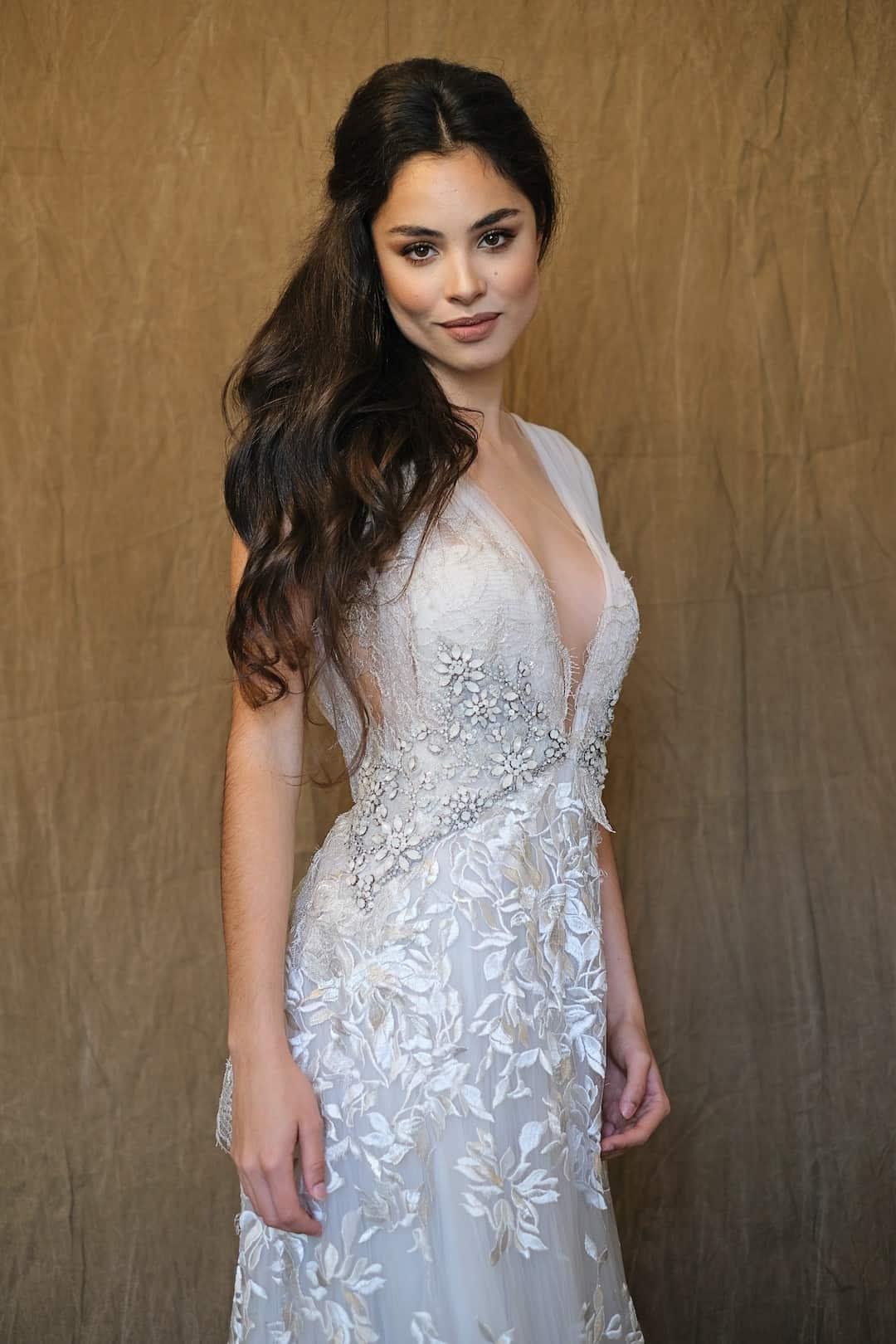 Romantic wedding dress - Marco&Maria - 2017-1017- front_top