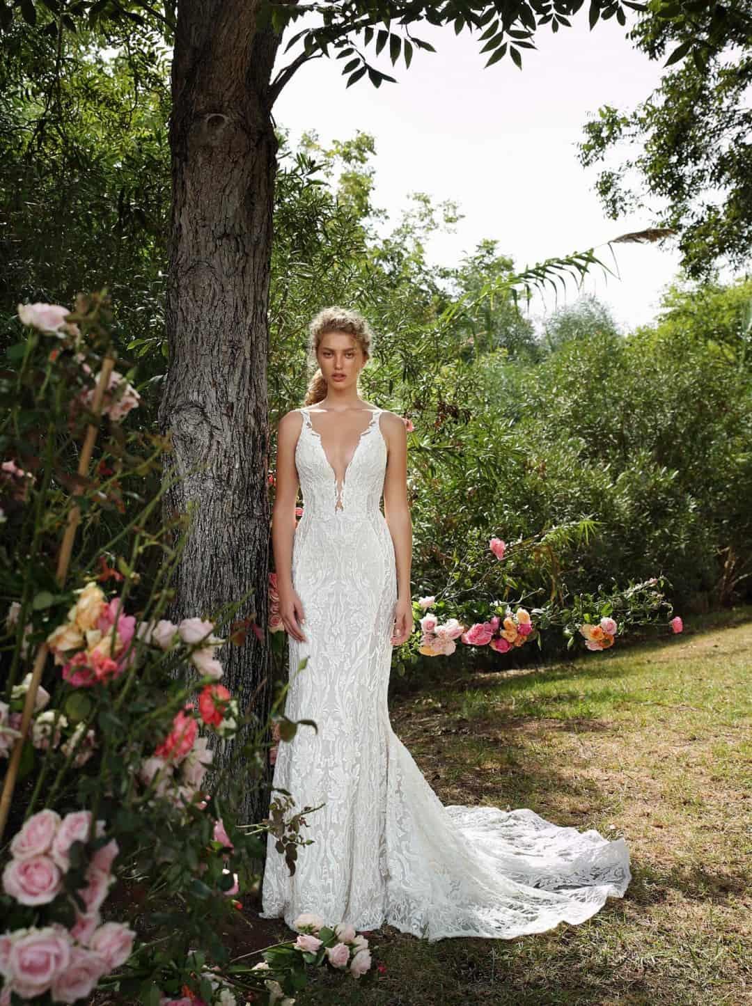 Haute Couture Wedding Dresses - G-207-front-long
