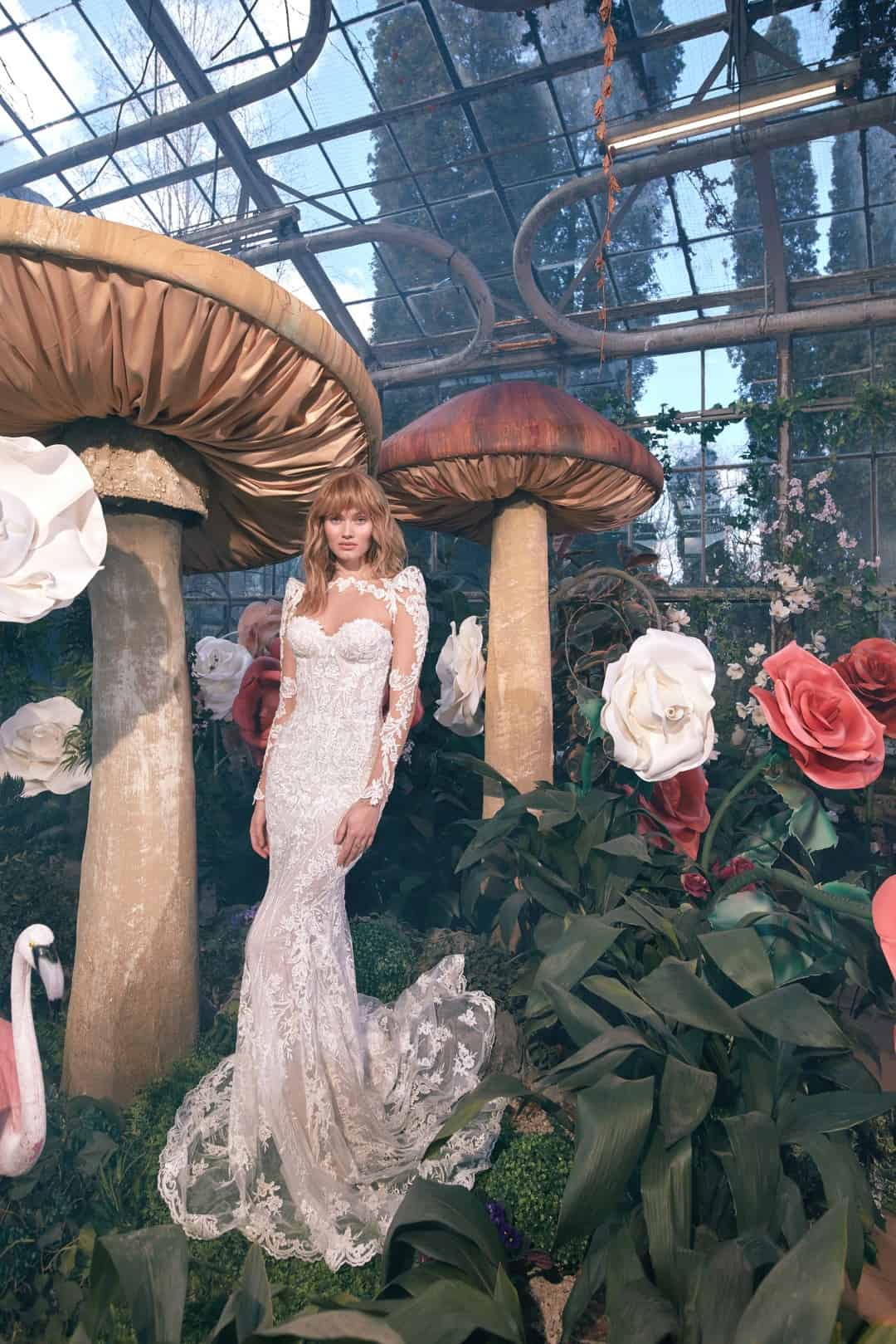 Haute Couture Wedding Dresses - G-305 front1