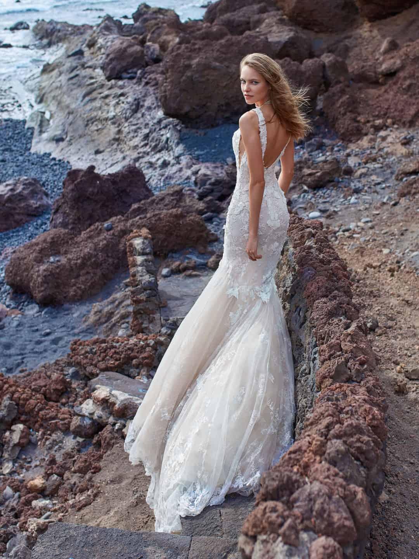 Haute Couture Wedding Dresses - GALA-1001-back