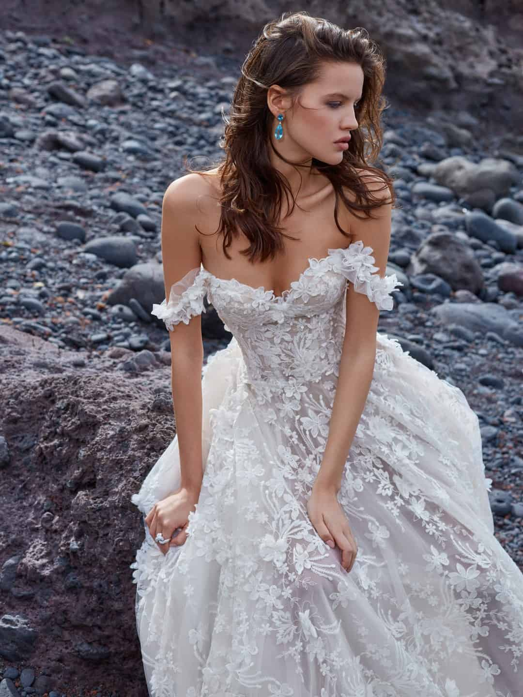 Haute Couture Wedding Dresses - GALA-1010-medium-shot