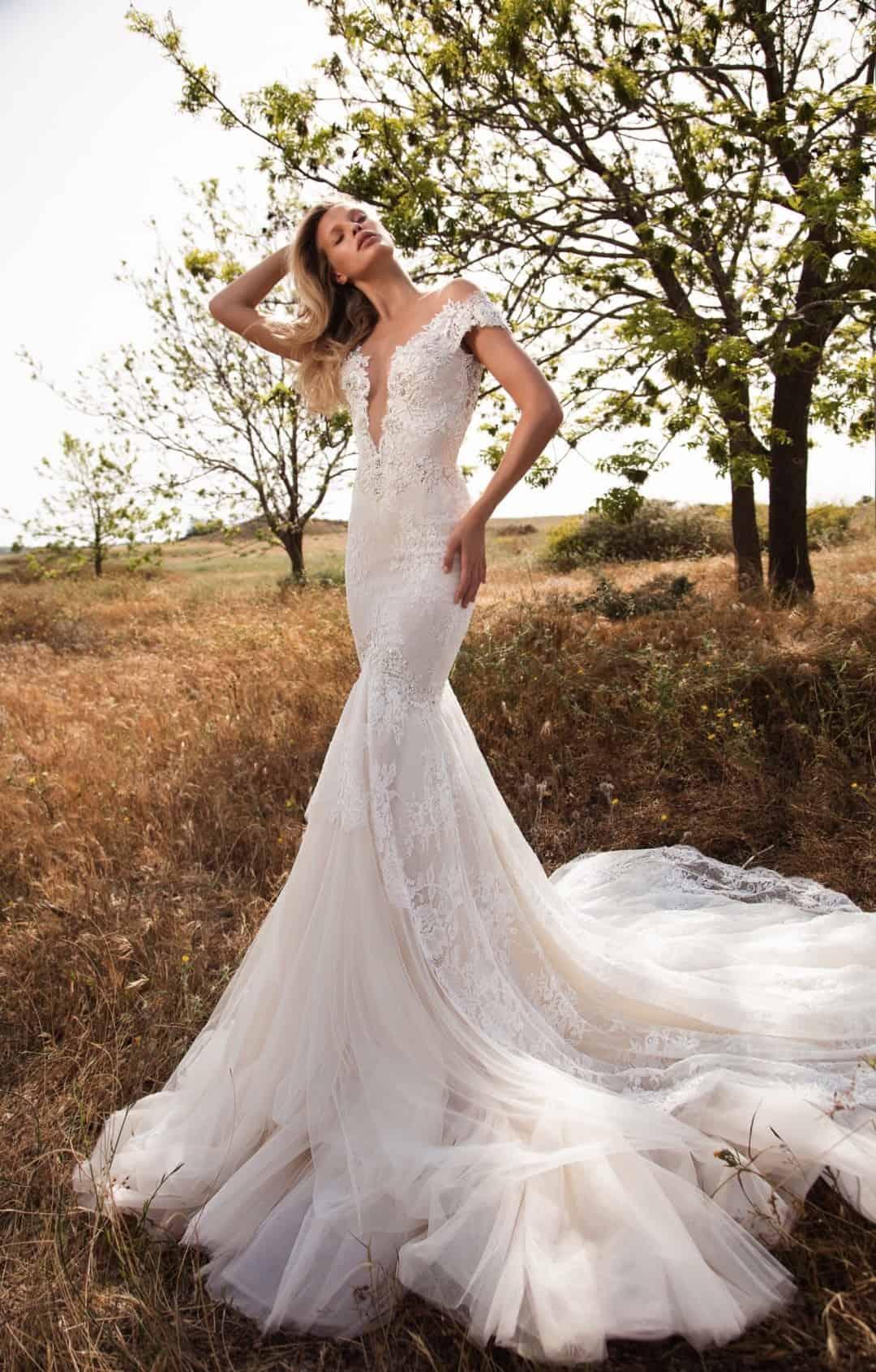 Haute Couture Wedding Dresses - GALA-702