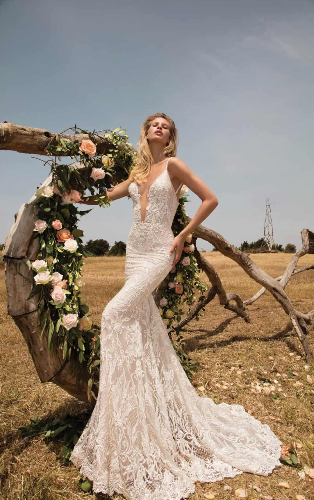 Haute Couture Wedding Dresses - GALA-708-5