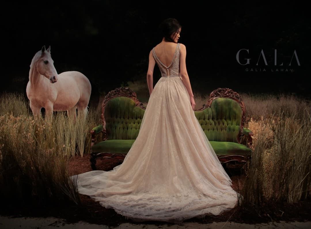 Haute Couture Wedding Dresses - GALA-711-14
