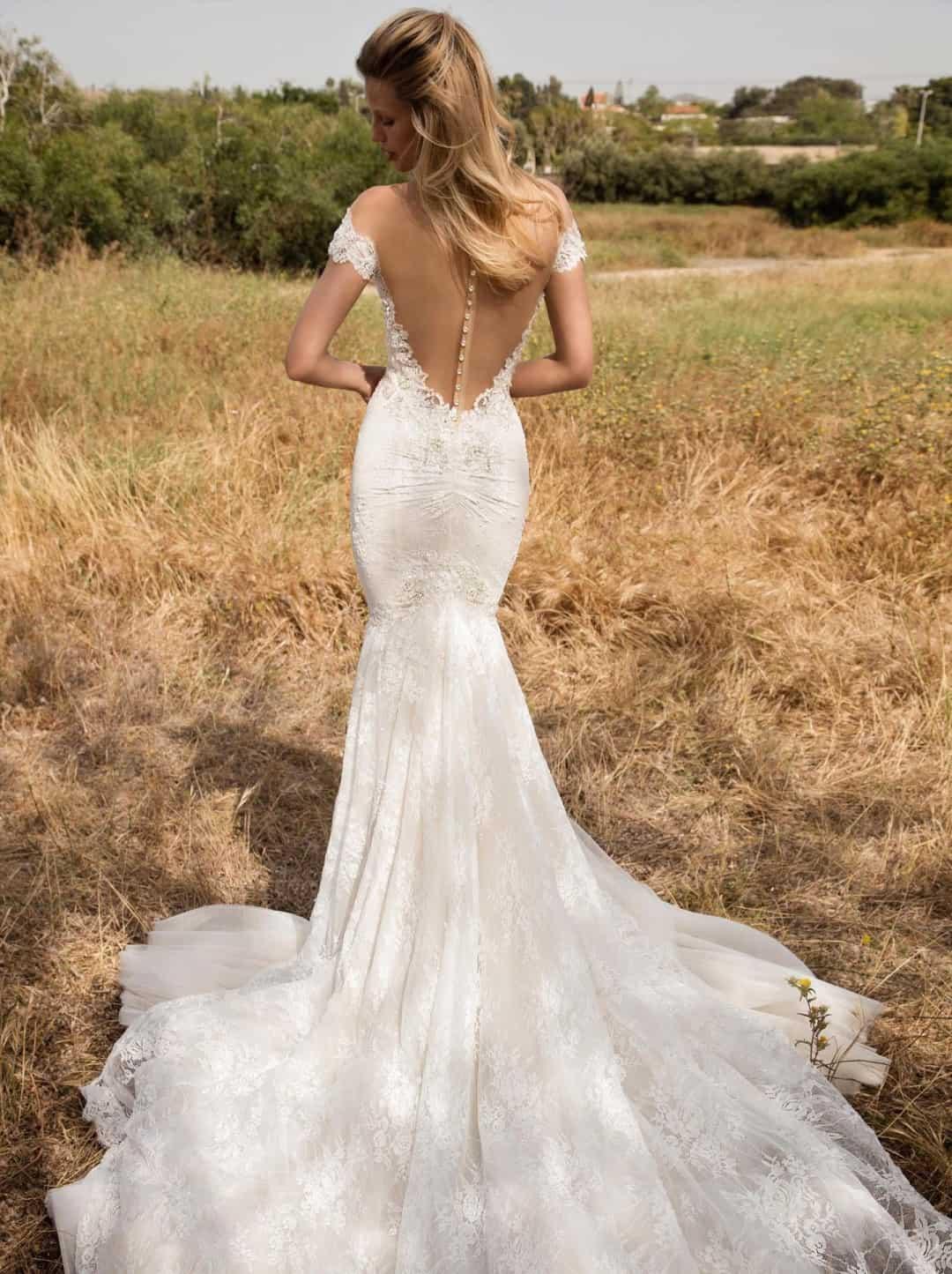 Haute Couture Wedding Dresses - Gala-702-back