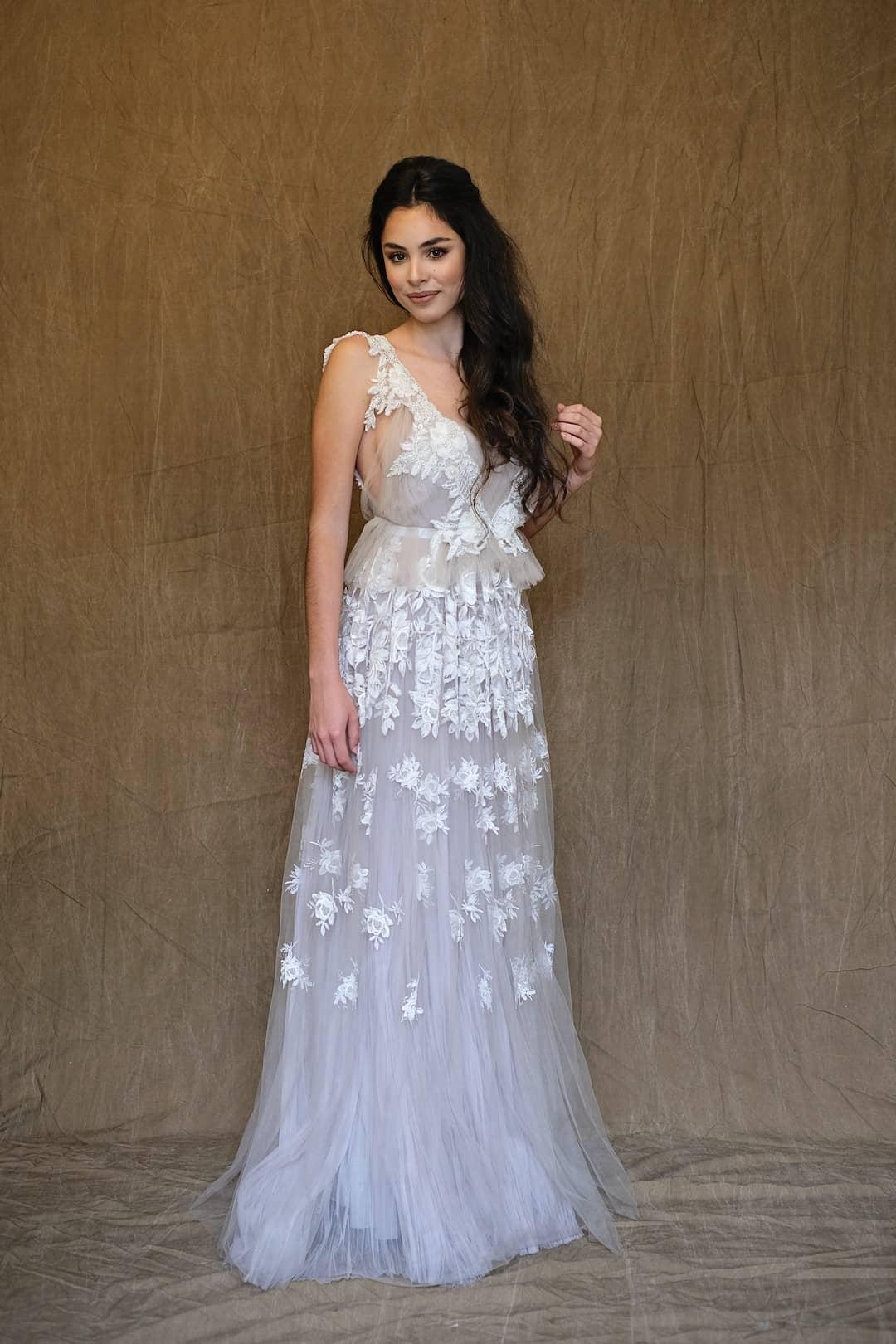 Romantisches Hochzeitskleid - Marco&Maria - 2017-1018 - front