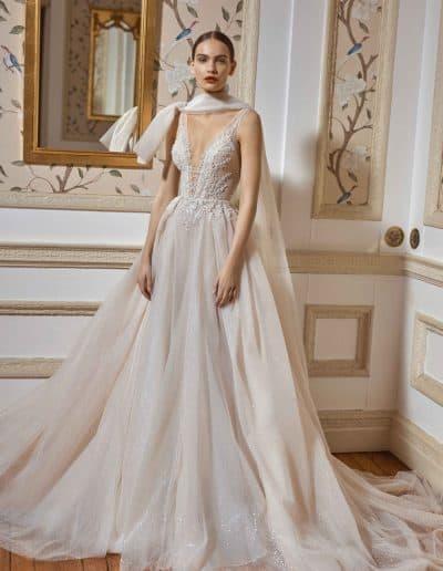 Galia Lahav Couture - Dancing Queen - Celeste-F-w-cape