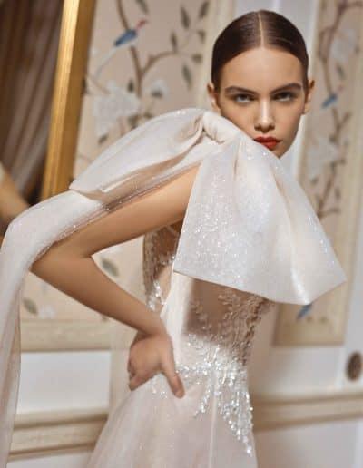 Galia Lahav Couture - Dancing Queen - Celeste-M-w-cape
