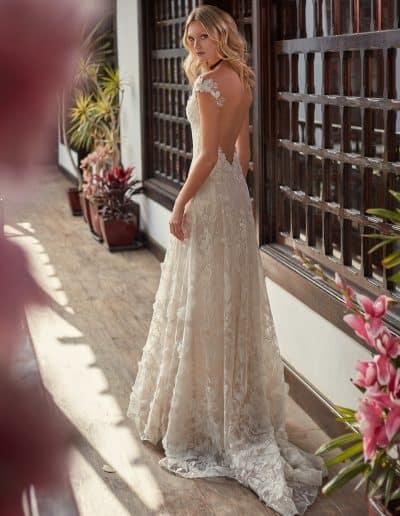 Galia Lahav Couture - Folrence by Night - Bryony back 1