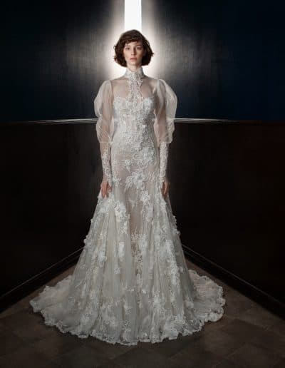 Galia Lahav Couture - Victorian Affinity - Laura + Laura Top Front2