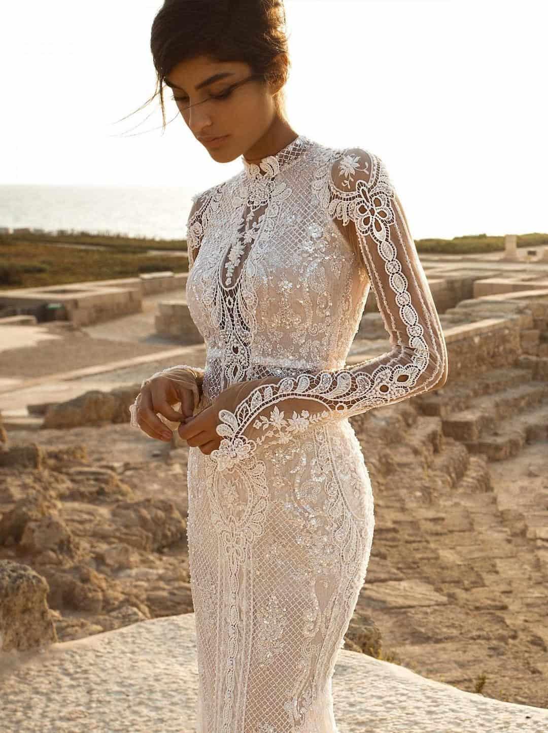 Haute Couture Brautkleider - Gala-805-side