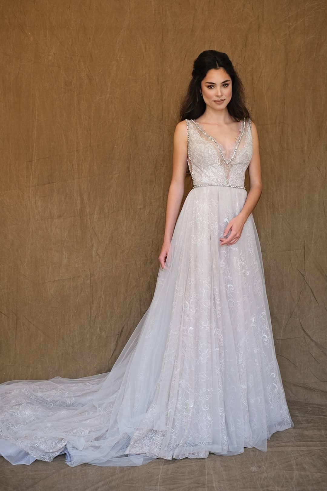 Haute Couture Brautkleider - Galia Lahav - Gala 711 - front