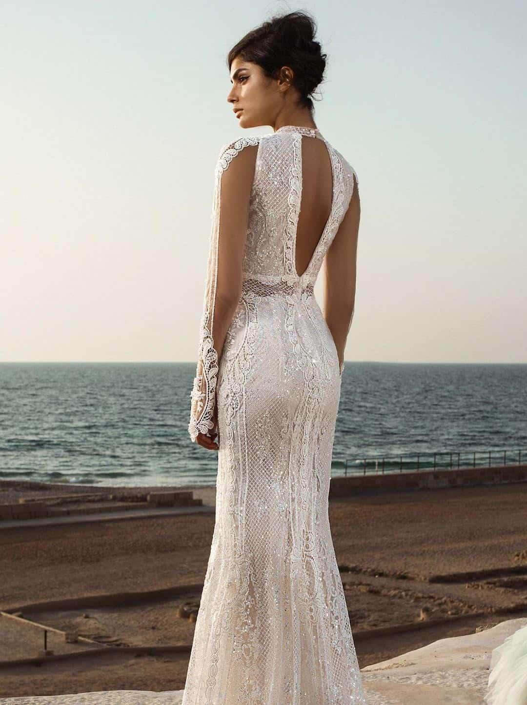 Haute Couture esküvöi ruhák - Gala-805-back