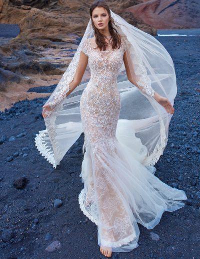 Galia Lahav - GALA Collection No. V - GALA-1013-front-and-veil-